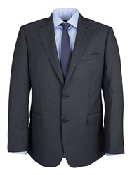 Paul Costelloe Modern Grey Birdseye Suit Jacket