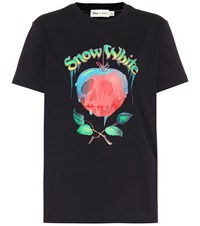 Coach X Disney Poison Apple Cotton T Shirt Black