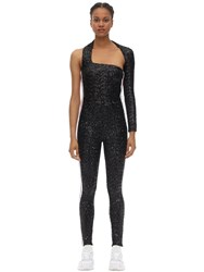 No Ka' Oi Lioness Embellished Techno Jumpsuit Black