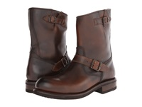 Frye Sutton Engineer Whiskey Antique Full Grain Cowboy Boots Brown