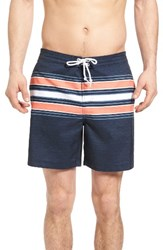 Original Penguin Men's Stripe Board Shorts
