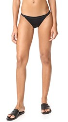 Solid And Striped The Molly Bikini Bottoms Black