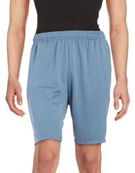 New Balance Knit Athletic Shorts Silver