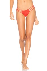 Indah Melli Strappy Bottom Red