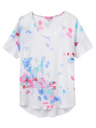 Joules Zoe Jersey Back Top Summer Floral