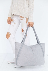 Bdg Quilted Tote Bag Grey