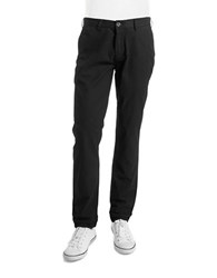 Ben Sherman Slim Fit Stretch Chino Pants Jet Black