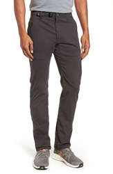 Prana Stretch Zion Roll Pants Charcoal