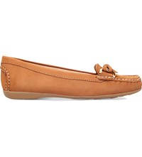 Carvela Comfort Cally Suede Loafers Tan