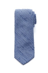 Jack Spade Graham Striped Silk Tie Blue