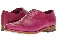 Paul Smith Bertie Oxford Fuchsia Women's Lace Up Casual Shoes Pink