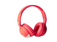 Skullcandy Hesh 2 Mic'd Bunny Coral Light Gray Headphones Pink