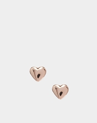 Ted Baker Harly Tiny Heart Stud Earring Rosegold