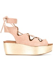 See By Chloe Liane Sandals Nude Neutrals