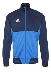 Adidas Performance Tiro 17 Tracksuit Top Collegiate Navy Blue White Dark Blue