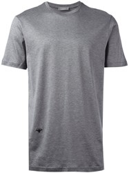 Christian Dior Homme Bug Patch T Shirt Grey