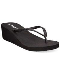 Reef Krystal Star Wedge Thong Sandals Women's Shoes
