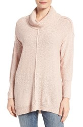 Vince Camuto Women's Two By Knit Tunic Rose Buff