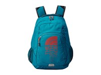 The North Face Haystack Ocean Depths Blue Poiniana Orange Backpack Bags