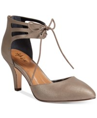 Styleandco. Style Co. Women's Vanaa Lace Up Pumps Only At Macy's Women's Shoes Flint