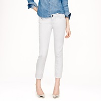 J.Crew Cropped Matchstick Jean In Garment Dyed Denim