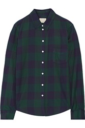 Band Of Outsiders Plaid Cotton Shirt