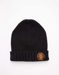 Superdry Twist Cable Beanie Black