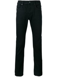 Diesel Black Gold Straight Leg Jeans Black