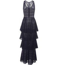 Stella Mccartney Lace Dress Blue