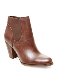 Steve Madden Roami Leather Booties Brown