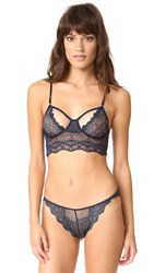 Only Hearts Club Whisper Sweet Nothings Cropped Cami Midnight