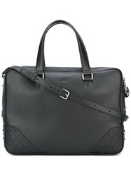 Tod's 'Gommini' Briefcase Black