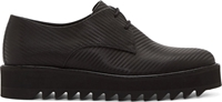 Surface To Air Black Woven Carbon Derbys