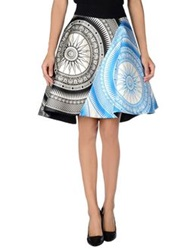 Fausto Puglisi Knee Length Skirts Azure