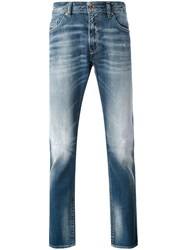 Diesel Thom Slim Fit Jeans Men Cotton Spandex Elastane 33 Blue