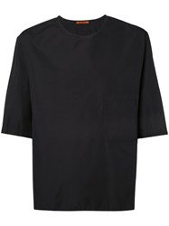 Barena Boxy T Shirt Men Cotton 50 Black