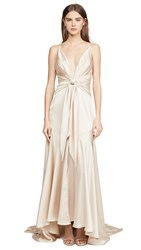 Fame And Partners Lake Dress Light Nude