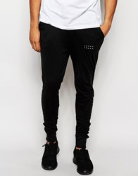 Jack And Jones Jack And Jones Joggers With Cuffed Ankle In Slim Fit Black