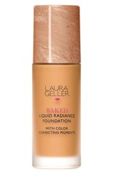 Laura Geller Beauty 'Baked' Liquid Radiance Foundation Tan