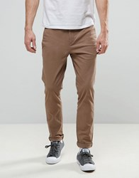 Religion Skinny Fit Chino With Stretch Taupe Stone