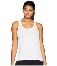 Tasc Performance St. Charles Racer Tank Top White Sleeveless