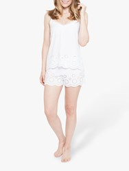 Cyberjammies Ella Camisole And Shorts Pyjama Set White
