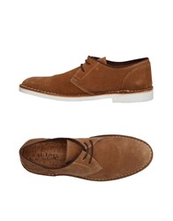 Selected Homme Lace Up Shoes Camel