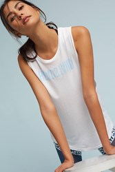 Anthropologie Headstand Tank Neutral Motif