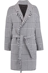Mother Of Pearl Bailey Belted Houndstooth Cotton Coat Multi