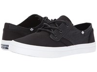 Sperry Crest Rider Canvas Black Women's Lace Up Casual Shoes