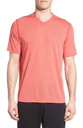 Under Armour Men's Regular Fit Threadborne T Shirt Red