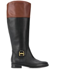 Lauren Ralph Lauren Two Tone Knee Height Boots 60