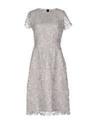 Blanca Luz Dresses Knee Length Dresses Women Light Grey