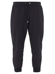 Moncler Zipped Cuff Technical Track Pants Navy